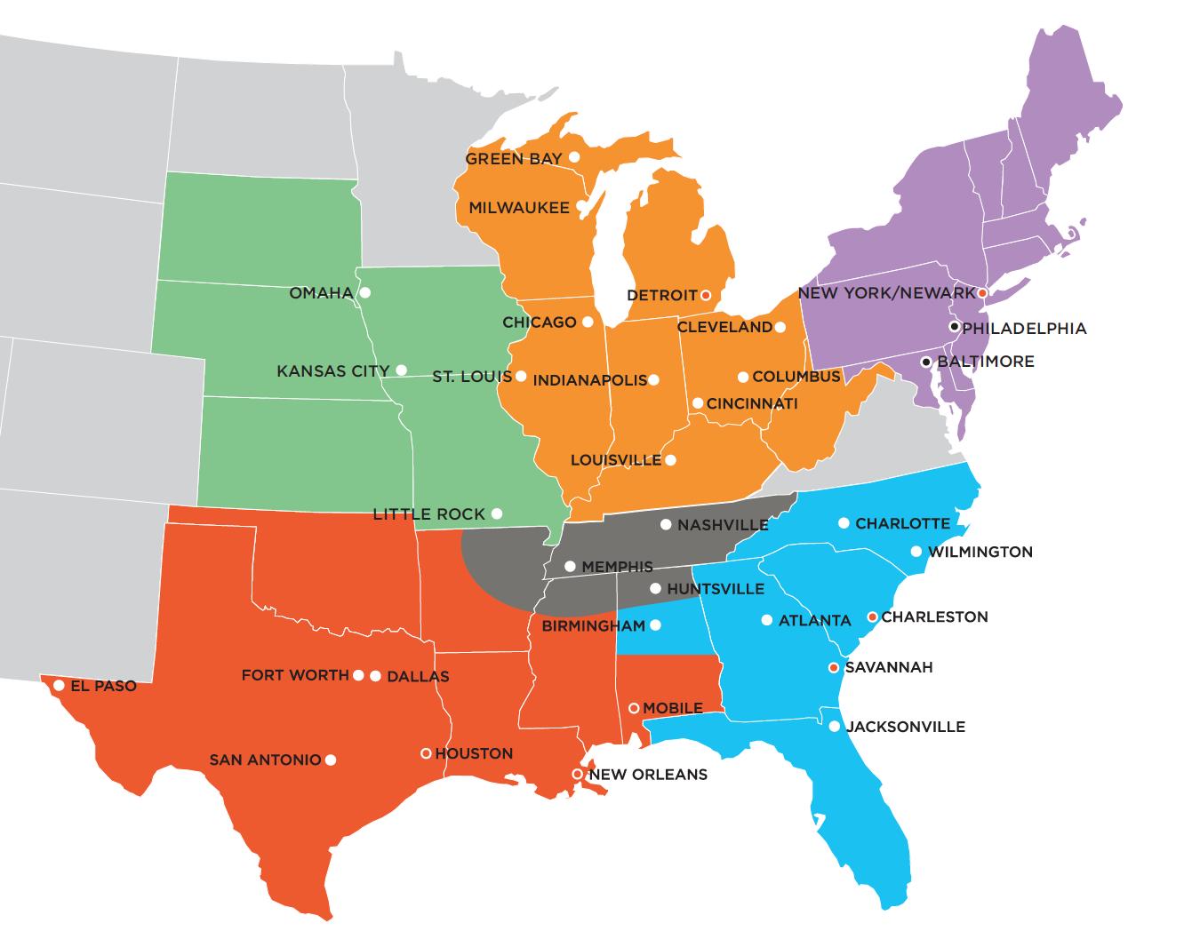 NACPC Map